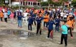 Pemkab Gunung Mas Peringati Hari Kesehatan Nasional dengan Senam Bersama