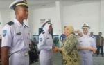50 Taruna SMKN 3 Kumai Ikuti Diklat Kemaritiman di Politeknik Pelayaran Semarang