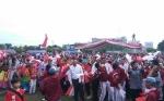 Masyarakat Palangka Raya Rayakan Peringatan Hari Pahlawan di Bundara Besar