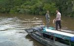 Pencarian Korban Tenggelam di Sungai Mentaya Gunakan Peralatan Manual