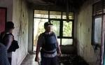 Rumah Kosong di Jalan Imam Bonjol Palangka Raya Terbakar
