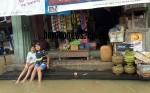 Air Luapan Sungai Kahayan Genangi Permukiman di Kelurahan Kuala Kurun dan Tampang Tumbang Anjir