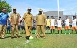 23 Tim Ikuti Kejuaraan Sepakbola Mini Peringati HUT KORPRI ke-47 di Kapuas