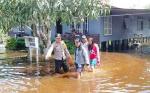 Desa Terendam Banjir di Banama Tingang Bertambah