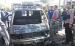 Mobil Boks Sempat Mogok Sebelum Terbakar