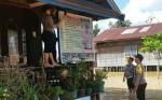 Debit Air Terus Naik, Polsek Banama Tingang Keluarkan Imbauan