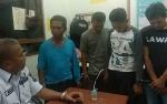 Polisi Tangkap 4 Tersangka Sabu di Sampit