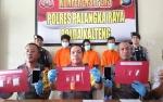 Polisi Ringkus Tiga Budak Sabu di Palangka Raya