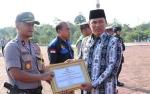 6 Anggota Polres Lamandau Diberikan Penghargaan karena Berhasil Ungkap Penyelundupan Sabu 7 Kg