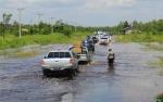 Dalam 3 Hari Jalan Trans Kalimantan Terendam Banjir