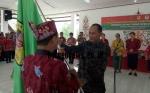 Bupati Gunung Mas Lepas Kontingen Festival Tandak Intan Kaharingan