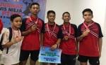 Atlet Tenis Meja Junior Putra Kapuas Raih Juara Tiga di Kejuaraan Nasional