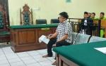 Keberatan dengan Putusan Jaksa, Wowo Ajukan Pledoi