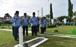 ASN Peringati HUT ke-47 Korpri dengan Ziarah ke Taman Pahlawan