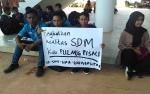 KNPI dan Mahasiswa Aksi Damai di DPRD Pulang Pisau