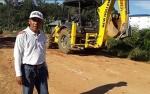 Jalan Rusak di Tumbang Samba Katingan Mulai Diperbaiki