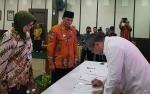 Bupati Lamandau Tandatangani MoU Sharing APBD Program Transmigrasi di Jakarta