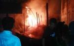 Gudang Barang Bekas di Kantor Dinas PU Terbakar