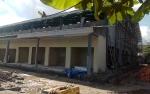 Pembangunan Pasar Palagan Sari Hampir Rampung