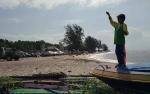 Pengunjung Objek Wisata Pantai Ujung Pandaran Menurun DrastisAkibat Jalan Rusak