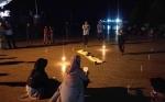 Peringati Hari Hak Asasi Manusia Melalui Aksi Teatrikal di Ikon Jelawat Sampit