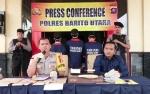 Polres Barito Utara Ekspos Pengungkapan Tiga Kasus Menonjol
