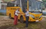 Bus Sekolah Bantuan Kemenhub Siap Layani Pelajar di Pulang Pisau