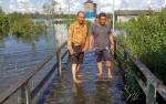 46 Rumah Di Desa Natai Baru Terendam Banjir