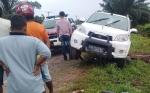 Mobil vs Motor, Dua Tewas Satu Orang Sekarat