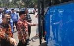 Pemerintah Kota Palangka Raya Terima Bantuan Lima Unit Bus