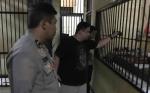 Kapolres Sidak Petugas Jaga dan Ruang Tahanan Polres Kotim Tengah Malam