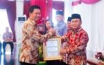 Bupati Barito Utara Terima DIPA 2019