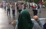 Kapolres Kotim Pimpin Pengamanan Aksi Solidaritas HMI Kotim Soal Muslim Uighur