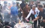 Polres Kapuas Musnahkan Ribuan Butir Obat Terlarang dan Sabu