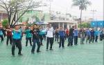 Jalin Silaturahmi Melalui Senam Bersama di Barito Utara