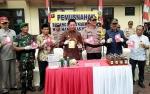 Polres Barito Utara Musnahkan Barbuk 18,42 Gram Sabu dan 34 Botol Miras