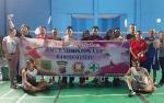 Persiapan Porwada Kalteng, PWI Barito Selatan Gelar Turnamen Bulutangkis Antar Wartawan