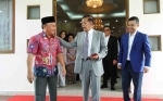 Gubernur Kalteng Silaturahmi ke Kediaman R Atu Narang