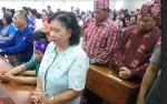 Jemaat Gereja Sion Berdoa untuk Korban Tsunami di Banten dan Lampung