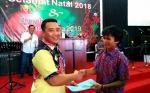 Seorang Warga Binaan Rutan Kelas IIA Palangka Raya Terima Remisi Bebas