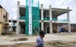 Pembangunan Struktur Tiga Lantai Gedung Wing B RSUD Muara Teweh Rampung