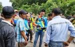 Bupati Barito Utara Tinjau Jalan Lemo-Simpang Batapah