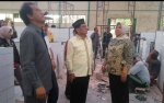 Bupati Kobar Cek Pembangunan Pasar Palagan Sari dan Indra Sari
