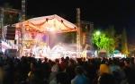 Ribuan Warga Padati Lapangan Bukit Ngalangkang Kapuas Sambut Tahun Baru