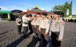 35 Anggota Polres Barito Utara Naik Pangkat