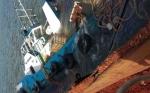 Tugboat Penarik Tongkang Tenggelam di Muara Sungai Mentaya