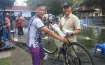 Adi Wibowo Peraih Sepeda Gunung Lomba Mancing Ditlantas Polda Kalteng