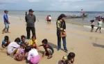 Polres Kotim Siagakan 39 Personel di Pantai Ujung Pandaran