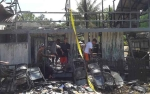 Bangunan Madrasah Ludes di Desa Simpang Bunga Tanjung Terbakar
