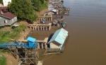 Air Sungai Katingan Kerap Berubah, Pemilik Keramba Khawatir Ikan Banyak Mati